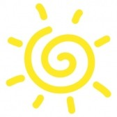 20450799-hand-drawn-spiral-sun-cartoon-on-white-background